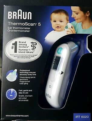 Braun Thermoscan 5 IRT6020 Digital Ear Thermometer