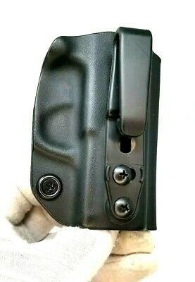 IWB KYDEX HOLSTER FOR SIG SAUER P365 9mm RIGHT HAND BLACK RH RCS clip APPENDIX