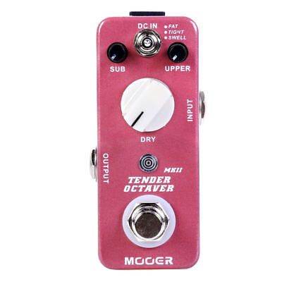 Mooer Tender Octaver MKII Guitar Effects Pedal! NEW