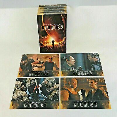 The Chronicles of Riddick - Complete 72 Card SET - 2004 - EX+/NM