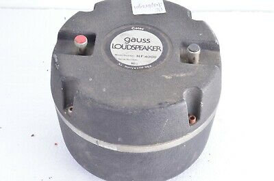 GAUSS HF4000 COMPRESSION DRIVER FREE