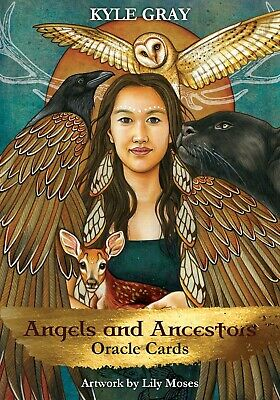 Angels And Ancestors Oracle Cards ' Moses, Kyle Gray and Lily