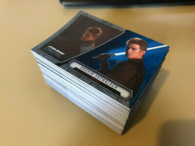 Star Wars - Evolution - BLUE Chase Trading Card BULK Lot of 120 - Topps - NM