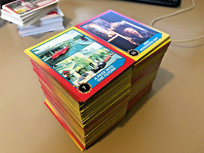 Back to the Future - Part II - Trading Card BULK Lot of 800 - 1989 Topps - NM