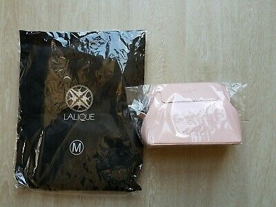New Singapore Airlines First Class LALIQUE Female Amenity Kit and Medium Pyjamas