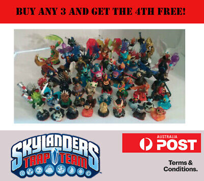 Skylanders Trap Team Figures & Traps / Buy any 3 & Get the 4th Free