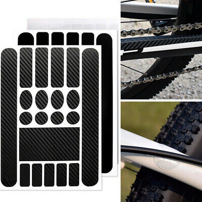 HRC* OMAS chrome bicycle chainstay protector thin shiny sticker vintage style