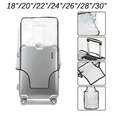 PVC Transparent Travel Suitcase Cover Dust proof Baggage Protector Storage Case