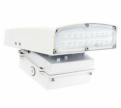 Westgate LED Adjustable Cutoff Wall Pack Outdoor Security Wall Light