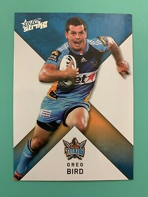 NRL Select Strike 2011 Rugby League Card Gold Coast Titans #56 Greg Bird