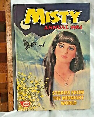 Vintage 1984 Misty The Teen Wiccan Witch Comic Book Annual Hb Uk Fleetway Exc!!!