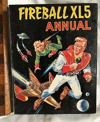 Vintage 1966 Fireball Xl5 Gerry Anderson Tv Show Comic Book Annual Vgc!!!