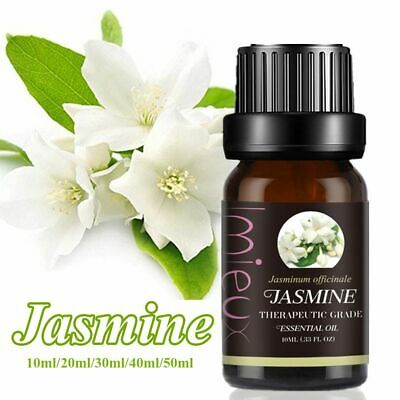 Jasmine Essential Oil 100% Pure Natural Uncut Premium Therapeutic Grade Oils