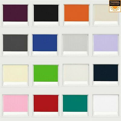 Blackout Fabric Roller Blind Thermal Properties