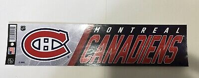 """Montreal Canadiens Sticker Decal Sheet 12x3"""" Official Licensed Product NHL New"""