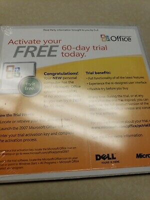 Trial Retail (3-Users) Microsoft Office 2007 Home and Student ENGLISH/NEW