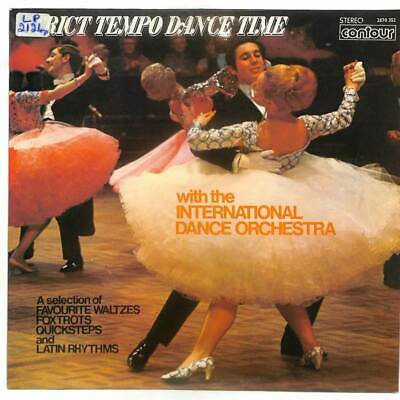 The International Dance Orchestra - Strict Tempo Dance Time - LP Vinyl Record