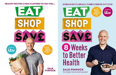 Eat Shop Save Pack includes Eat Shop Save and Eight Weeks to Better Health