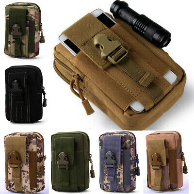 Running Pouch Tactical Molle Pouches Military Pack Belt Waist Bag Small Pocket