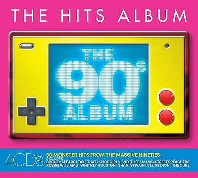 THE HITS ALBUM: THE 90s ALBUM 4 CD - Various Artists (Released 2/08/2019)