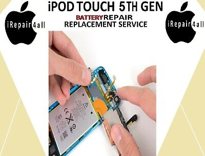 APPLE iPOD TOUCH 5TH GENERATION BATTERY REPAIR REPLACEMENT SERVICE - £24.99