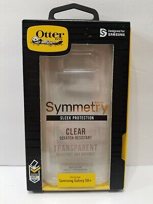 Genuine OtterBox Symmetry Series Sleek Protection for Samsung Galaxy S8+ Clear