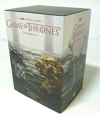 Game of Thrones: The Complete Seasons 1-7 1 2 3 4 5 6 7 (DVD, 2017 Box Set)