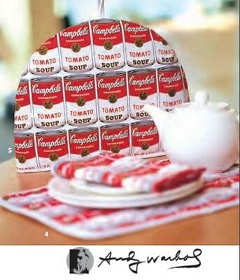 Andy Warhol Official Licensed Campbell's Soup Pop Art Tea Cosy Cally & Co Print