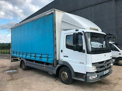 Mercedes-Benz Atego 816 Eur5 2012 Curtainsider+Tailift MOT Low Miles Very Clean