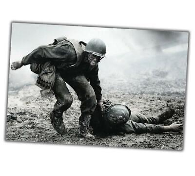 """World War Photo Normandy d-day saving a soldier WW2 Glossy Size """"4 x 6"""" inch α"""