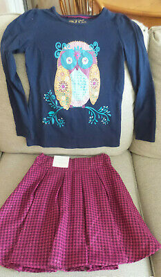NWT Girls Monsoon Size 11 -12 - NWT Skirt and matching top -