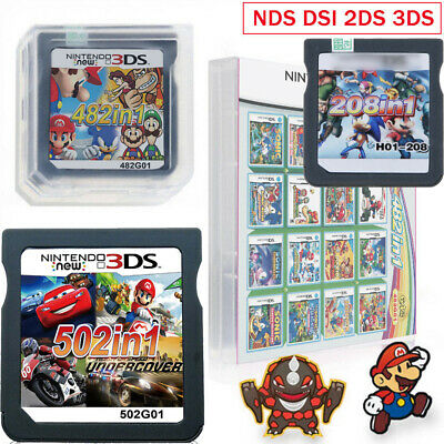 Video Card Game Cartridge Console Multicart For NDS NDS NDSL NDSi 3DS 2DS XL LL
