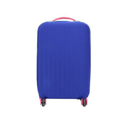 Travel Trolley Case Elastic Solid Luggage Suitcase Protector Cover Blue S #ur