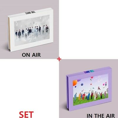 THE BOYZ [THE ONLY] 3rd Mini Album 2 SET (No Air+In The Air).CD+Booklet+Card+etc