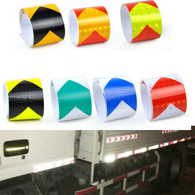 Safety Warning Tape Arrow Tape Strip  Conspicuity Sticker Night Safety