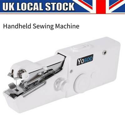 Electric Mini Portable Handheld Cordless Sewing Machine Hand Stitch Home Clothes