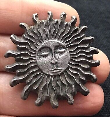 Very Old Ancient Roman Worship Sun Wonderfull Bronze Pendent