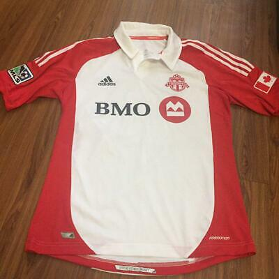 separation shoes 67f90 a651f TORONTO FC TFC Soccer MLS Away jersey formation 2012-2013 #26 ECKERSLEY  size-L