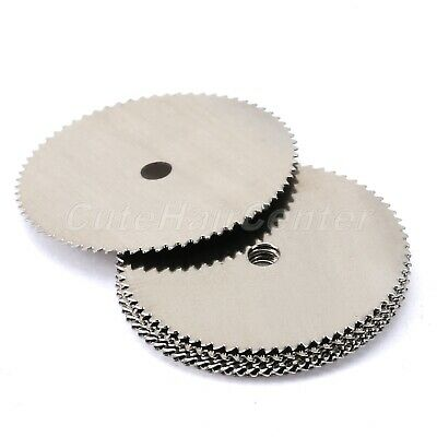 22mm Stainless Steel Disc Saw Wheel Cutting Blades Slice for Rotary Tools 40Pcs