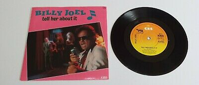 """Billy Joel Tell Her About It 7"""" Single A1 B1 Pressing - EX"""