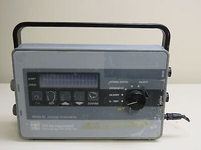 YSI Model 59 Dissolved Oxygen meter with power supply
