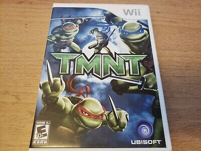 TMNT (Nintendo Wii, 2007) *Complete with Manual*