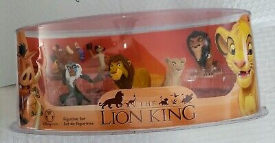 The Lion King Disney Store Figurine Set Toy NEW Rare Cake Topper