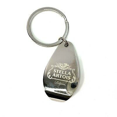 Stella Artois Belgium Beer Bottle Opener Key Chain