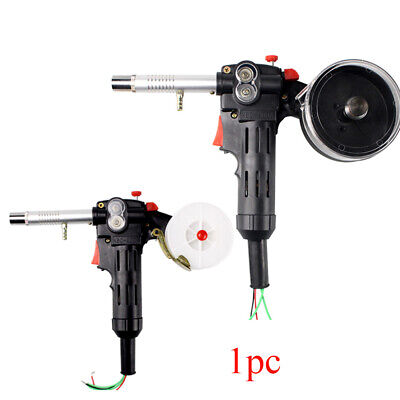 UK Toothed Roller MIG Spool Gun Wire Feed Aluminum Welder Torch Weld Parts