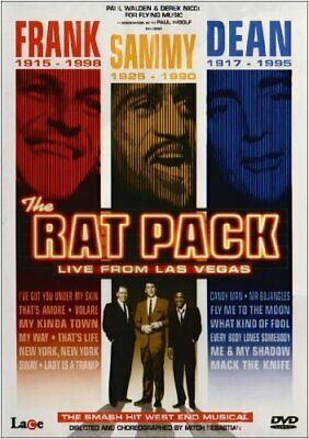 The Rat Pack - Live From Las Vegas [DVD] NEW/SEALED