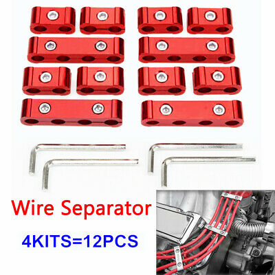 8/9/10mm Engine Spark Plug Wires Separator Divider Organizer Clamp Fixed Holder