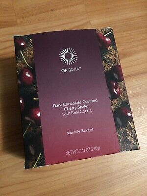 Medifast Optavia Dark Chocolate Covered Cherry Shake- 7 pkts - Exp 05/27/2020