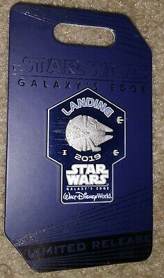 2019 Disney Parks Star Wars Galaxy's Edge Disney World Opening Day Pin IN STOCK