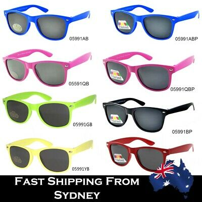 Kids Fashion Colorful Wayfare Style Sunglasses Boys Girls